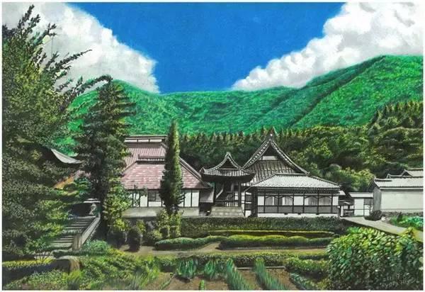 彩铅可以做什么?  可以让你想象的世界变得真实,真实的世界变得更真实  看看这位来自日本的画家是怎么让梦想照进现实的吧。